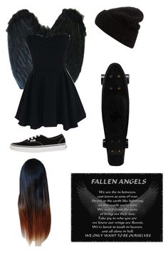 """""""The Fallen Angel ❤️"""" by kgirlz001 ❤ liked on Polyvore"""