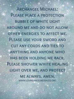 I don't usually share archangel posts publicly but I do believe in them and have done so for quite some time and I think this is a powerful prayer. Alana