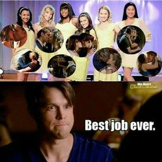 That Moment when Sam literally kissed all the girls in Glee club