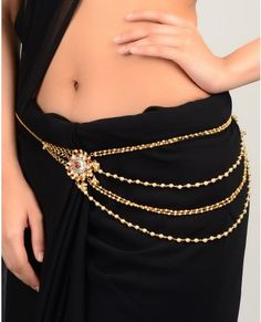I never wear my saree (it's dressy & too unusual for the typical parties I go to), but I like this belt a lot!