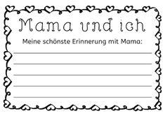 Muttertag Schreibanlass, Schreibanlässe, Gedicht, kreativ, Mutter, Mama, Eltern, Kinder, Schreiben, Acrostichon