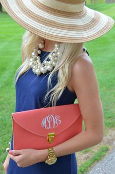 Southern Belle ~ Pearls and Monograms