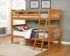 Bunks Twin Over Twin Bunk Bed - 460233