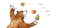 A selection of the illustrations that have won Emily Gravett her second Kate Greenaway Medal
