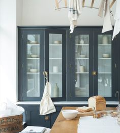 A Gallery of Gorgeous Glass Fronted Cabinets: All The Beauty of Open Shelving, Without the Dust & Grime