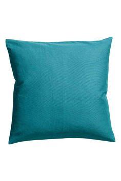 Copricuscino in tela di cotone - Turchese - HOME | H&M IT 1