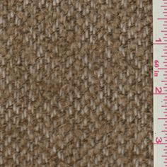 Brown/Ivory Boucle Coating - Discount Fabrics $10/yd til 1/7/13