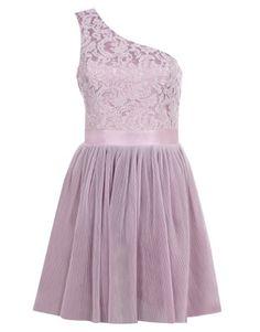 Lipsy V I P One Shoulder Pleated Prom Dress
