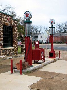Antique/Vintage Gas Pumps: Texaco