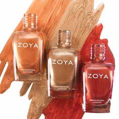 Zoya Nail Polish, Zoya Nail Care Treatments and Zoya Hot Lips Lip Gloss