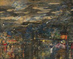 Konstantin Korovin | Paris by night