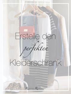 Capsule Wardrobe heißt auf deutsch so viel wie Kapsel Kleiderschrank und bedeutet sich eine minimalistische Garderobe aufzubauen. Wie zeige ich euch hier.