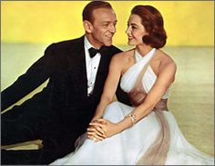Remake of Garbo film: Fred Astaire and Cyd Charisse in Silk Stockings. This was one of my favorite dresses from old movies I watched while growing up. I wish I could find a better shot of it though.