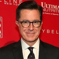 Pin for Later: Stephen Colbert wird David Lettermans Nachfolger