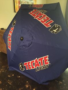 Tecate Light Beer New Pool Or Patio Umbrella 8u0027 Tall, 7u0027 Wide. VERY NICE