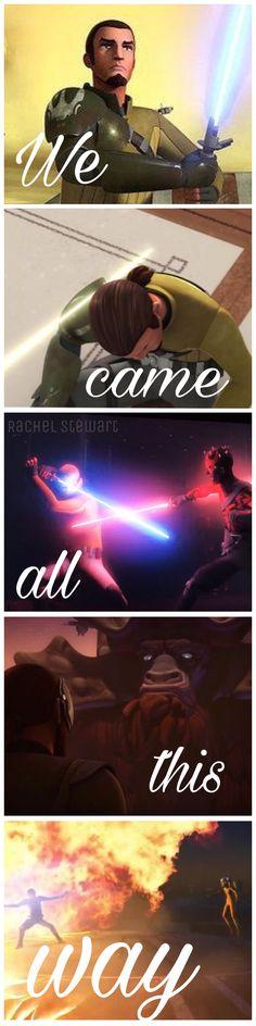 1/3 Farewell Kanan. Star Wars Rebels