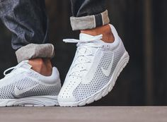 Nike Mayfly Premium 'Triple White' (blanche)