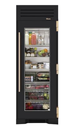 I Designed A Custom 30 Gl Door Refrigerator Column On The True Residential Website