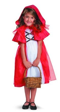 Disguise Secret Fairytale Storybook Red Riding Hood Girls Costume, 7-8