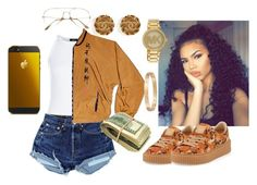 """""""Gucci 💰 💸"""" by amyacurry ❤ liked on Polyvore featuring New Look, Puma, Cartier, Michael Kors and Chanel"""
