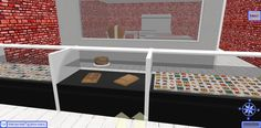 The Candy Counter inside the Candy Shop at Snow Island - 3D Browsing at WalkTheWeb.com