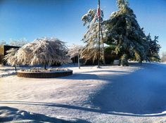 Winter of 2014 on a cold and snowy morning.   photo by j. martin