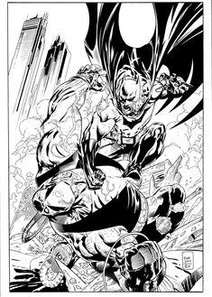 Batman VS Bane by ardian-syaf.deviantart.com on @DeviantArt