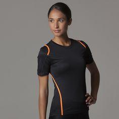 Women's Gym/ Running Shirt - Short Sleeve