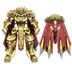 Looks like something Gilgamesh would approve of~ Gundam Toys, Gundam Art, Comic Character, Character Concept, Character Design, Robot Illustration, Anime Watch, Fantasy Concept Art, Mecha Anime