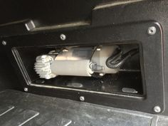 Compressor in the storage compartment. Good idea.