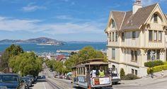 San francisco-Californie-états-unis « La ville au bord de la baie ».