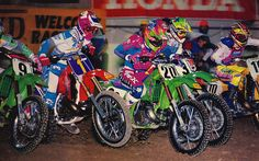 Jeff Matiasevich fighting Jeff Stanton for the holeshot 1990 | Flickr – Condivisione di foto!