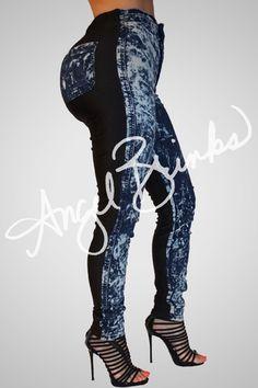 Sinister Jeans New (Solid Black) | Shop Angel Brinks on Angel Brinks