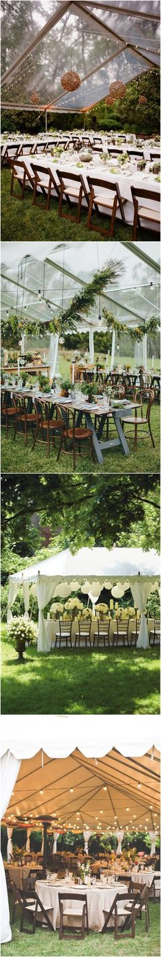 22 outdoor wedding tent decoration ideas that every bride will love! 22 outdoor wedding t Wedding Tent Decorations, Tent Wedding, Outside Wedding, Dream Wedding, Wedding Ceremony, Summer Wedding Attire, Summer Wedding Colors, Wedding Locations, Wedding Venues