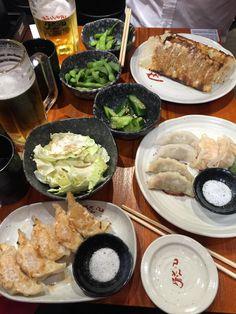 [I ATE] Gyoza feast