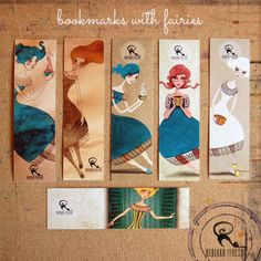 FAIRY bookmarks by RebekkaIvacson on Etsy