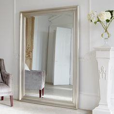 Vermont Oversized Mirror - Silver