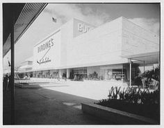 Burdine's Department Store  163rd Street Shopping Center  North Miami