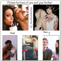 Cute!!!(: the Niall one is just like me and my brother though cuz I never get to see him:)