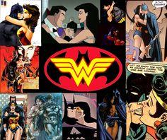 batman and wonder woman   BATMAN & WONDER WOMAN Superhero Fan Art