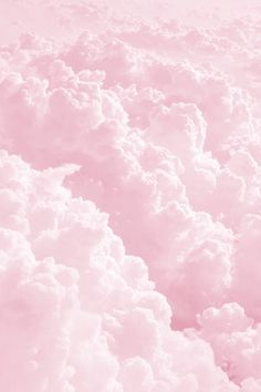 Light Pink fluffy cloud Art