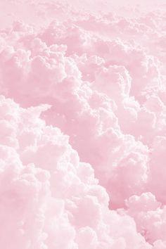 Light Pink fluffy cloud Art
