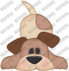 S~ PUPPY DOG ~ Scrapbook Embellishment TB6