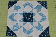 Fireworks Quilt Block, Constellations designed by Lizzy House