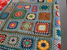 Crocheting Conversations: Granny Square revisited...
