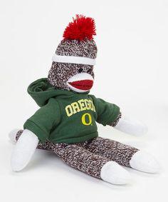 Look at this #zulilyfind! Oregon Ducks Sock Monkey #zulilyfinds