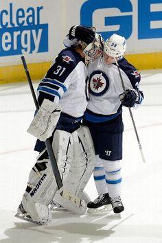 SECOND STAR: #39 Tobias Enstrom, Winnipeg Jets