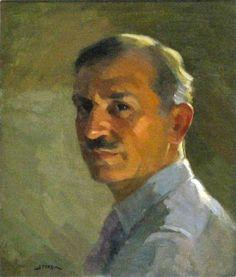 Antonin Sterba 1875-1963, Self-Portrait