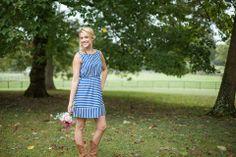 $24.99 - Blue Bow Back Dress - LaMaLu Boutique | Women's Online Clothing Boutique