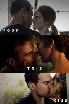 This. Is. Love. ‪#‎FourTris‬ ‪#‎FourTrisKiss‬